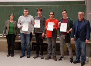 Großer Erfolg für TG Schüler am Mathematikwettbewerb