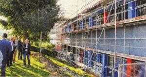 Kreis investiert Millionen Euro in die Außenfassade