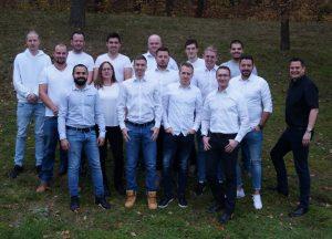 Abschlussklasse Meisterausbildung Kunststoff 2019 an der GBS-Ehingen