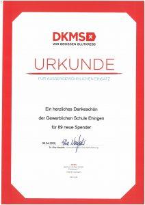 DKMS-Registrierung: 89 neue Spenderinnen und Spender gewonnen