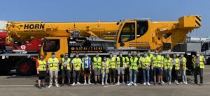 Read more about the article Liebherr-Besichtigung trotz Pandemie