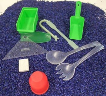 An der GBS in der Ausbildung gefertigte Produkte.